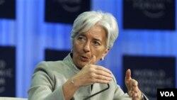 Menteri Keuangan Perancis, Christine Lagards