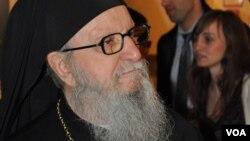 ο Αρχιεπίσκοπος Αμερικής Δημήτριος (φώτο αρχείου)