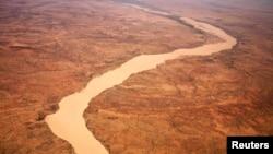 Le désert à Gos Beida dans l'est du Tchad
