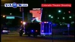 VOA60 USA - Movie Theater Shooting
