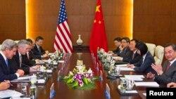 Des pourparlers entre la Chine et les Etats-Unis s'ouvraient mercredi à Washington