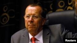 Martin Kobler, représentant spécial du sécretaire général de l'ONU et che de la mission des Nations Unies en RDC(Monusco)
