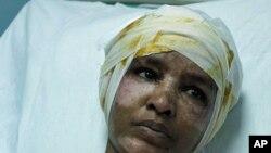 قذافی کےدور میں مبینہ اذیت کا شکار خاتون کی امداد