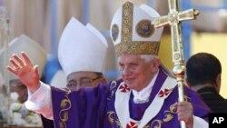 教宗較早前訪問古巴。