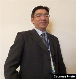 台湾金融研训院金融研究所所长林士杰(照片提供: 林士杰)