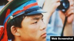 亲历八九六四民主运动在天安门广场担任学生纠察队总指挥的张健 (推特照片)