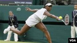 Petenis AS, Venus Williams mundur sebelum pertandingan babak kedua turnamen tenis AS terbuka di New York.