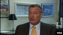 紐約市市長比爾白思豪資料照。