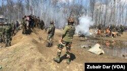 Mjesto nesreće u Kašmiru