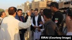 """بازدید سفیر افغانستان از """"افغان مارکیت"""" (عکس از آرشیف)"""