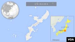 Peta wilayah Jepang dan lokasi Okinawa (Foto: dok).
