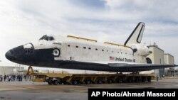 Pesawat ulang-alik Atlantis akan dipensiunkan dan menjadi pameran bagi publik di Pusat Antariksa Kennedy di Florida (foto: dok).