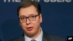 Predsedik Srbije Aleksandar Vučić