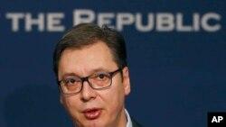 Arhiva - Predsednik Srbije Aleksandar Vučić