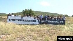 Protest novinara na Kosovu zbog nestanka njihovih kolega