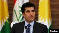 Serokwezîrê Herêma Kurdistana Îraqê Nêçîrvan Barzanî,