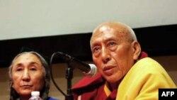 Uygurların sürgündeki lideri Rabiya Kadir ve Tibetlilerin sürgündeki Başbakanı Samdhong Rinpoche