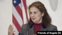 Nina Maria Fite, embaixadora dos Estados Unidos em Angola, apontada em 2017