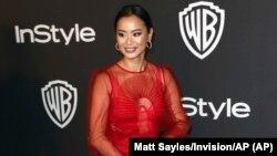 Американська акторка Джеймі Чанг у сукні від українського бренду Nadya Dzyak