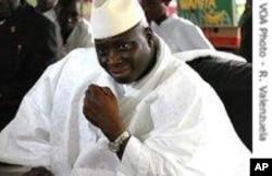 The Gambia's President Yahya Jammeh