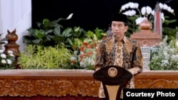 Presiden Joko Widodo di Istana Negara Jakarta (21/6). (Foto: Biro Pers Kepresidenan)