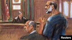 Suleiman Abu Ghaith in court March 8, 2013