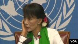 آنگ سان سوچی در ژنو