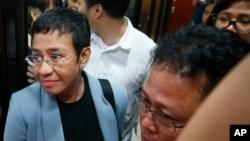 菲律宾新闻网站拉普勒的执行主编玛丽亚·雷萨。