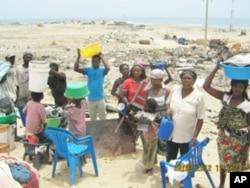 Desalojadas 54 famílias na cidade do Namibe