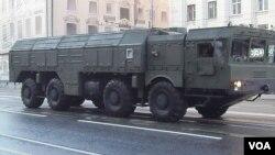Российский оперативно-тактический ракетный комплекс «Искандер»