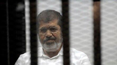 埃及前总统穆尔西被判与屠杀抗议者有牵连。