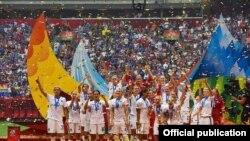 Чемпионки мира - женская футбольная сборная США