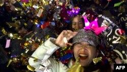Фото: Новий рік зустрічають в Пекіні, Китай