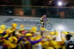 France Centenarian Cyclist