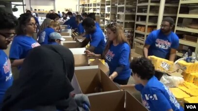 Islamic Relief USA Bagikan Paket Bantuan Pangan Selama Ramadan