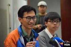 香港立法會議員朱凱迪。(美國之音湯惠芸攝)