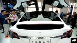 特斯拉電動汽車