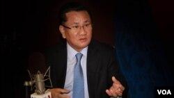 Cựu quan chức cấp cao nay đã đào tị của Bắc Triều Tiên Ri Jong Ho trong cuộc trò truyện với Ban Tiếng Triều Tiên của VOA.
