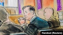 Перший день суду над Полом Манафортом 31 липня, 2018.