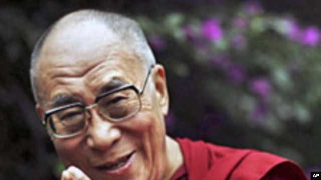 The Tibetan spiritual leader Dalai Lama