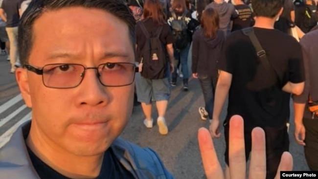 新界西屯门乐翠选区民主党的卢俊宇脸书资料照