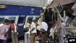 Železnička nesreća u Indiji