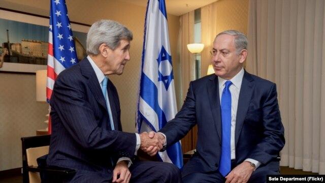 លោក Kerry និងលោក Netanyahu ជួបពិភាក្សាគ្នាលើបញ្ហាអំពើហិង្សានៅអ៊ីស្រាអែល