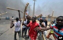 Scène de violence à Kano