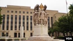 位于首都华盛顿的联邦地区法院