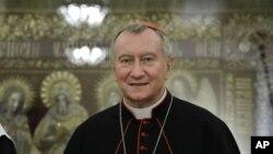 Bộ trưởng Ngoại giao Vatican Hồng y Pietro Parolin.