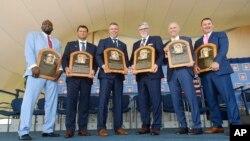 [주간 스포츠 세상 오디오] MLB '명예의 전당' 헌액식