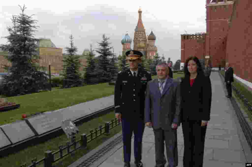 Даг Уилок в Москве перед отправкой на Байконур