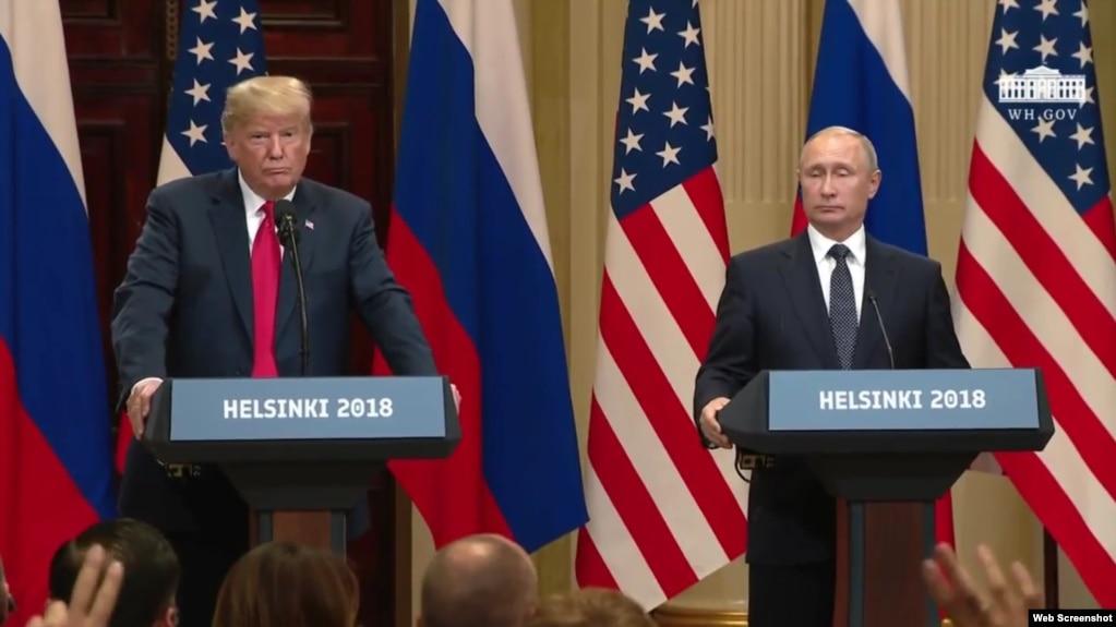 Trump: Bisedimet me Putinin, konstruktive