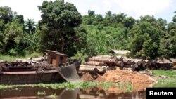 Aide américaine en RDC; 32000 tonnes de poisson du Gabon vers l'Europe